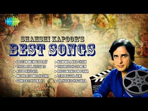 Shashi Kapoor's Best Songs   Thoda Ruk Jayegi To Tera Kya Jayega