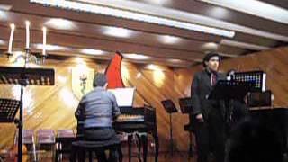Concierto de Clavecin por  alumnos de Anita Savarain 2015