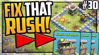 FAST FORWARD! Gem, Fix That Rush Clash of Clans TH12 Episode 30