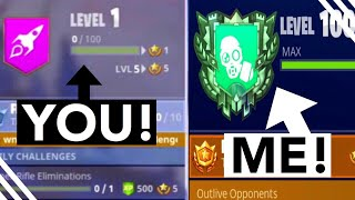 How To Level up FAST in Fortnite Season 4! How To Level up Battle Pass FAST Guide/Tips!