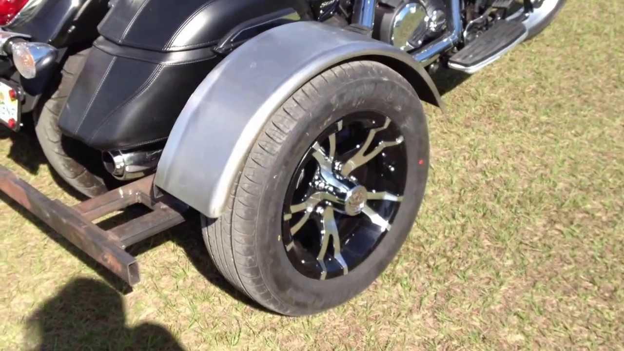 Diy trike kit on a 2012 yamaha touring youtube solutioingenieria Images