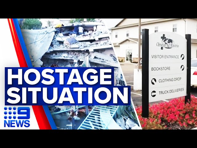 Hostage situation in Haiti enters second day | 9 News Australia