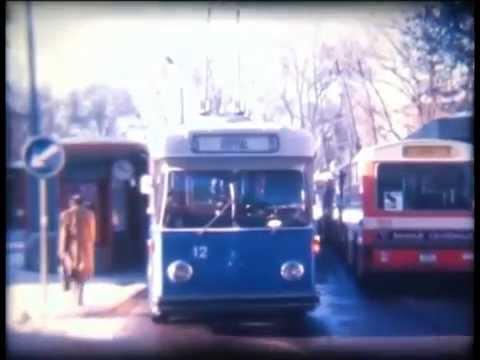 Trolleybus La Chaux de Fonds (Super8 film)