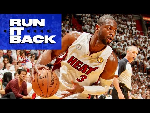 Dwyane Wade Rewatches Game 7 of 2013 NBA Finals | Run It Back