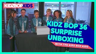 KIDZ BOP 36 Surprise Unboxing with The KIDZ BOP Kids!