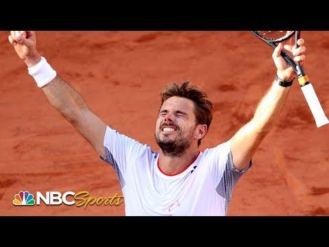 2019 French Open Highlights: Wawrinka Wins Five-set Thriller; Federer, Nadal Cruise | NBC Sports