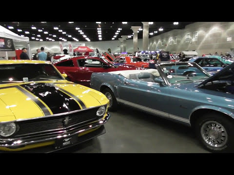 CLASSIC AUTO SHOW LA 2017 Los Angeles Convention Center VIDEO 4 OF 4