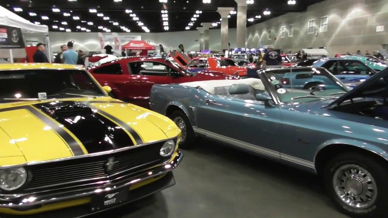 CLASSIC AUTO SHOW LA Los Angeles Convention Center VIDEO OF - Classic car show los angeles