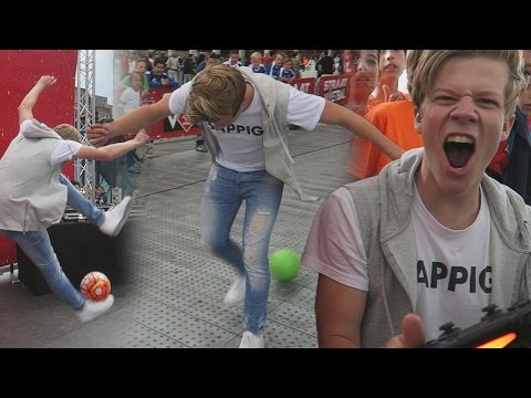 KNVB STRAATVOETBAL CHALLENGES!