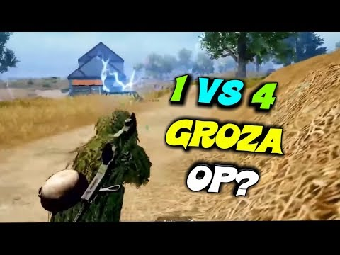SOLO VS SQUAD IN THE END CAN GAREEB CLUTCH IT WITH GROZA || PUBG MOBILE HIGHLIGHTS