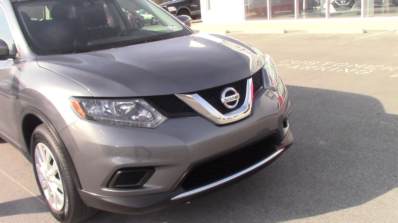 2016 nissan rogue sv in roanoke rapids nc walkaround youtube. Black Bedroom Furniture Sets. Home Design Ideas