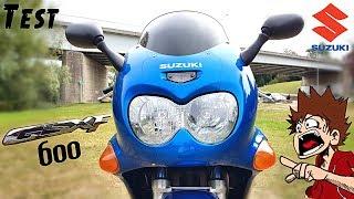 """""""Test"""" Tête d'escargot + moteur de bandit  = """"Suzuki GSX-F 600 de 2001"""""""