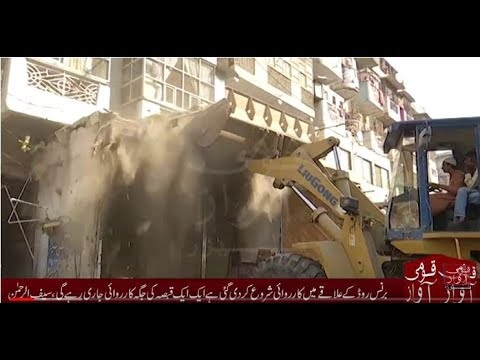 Anti-encroachment operation to continue in Karachi