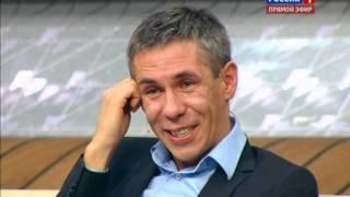 """Алексей Панин матерится в """"Прямом эфире"""""""