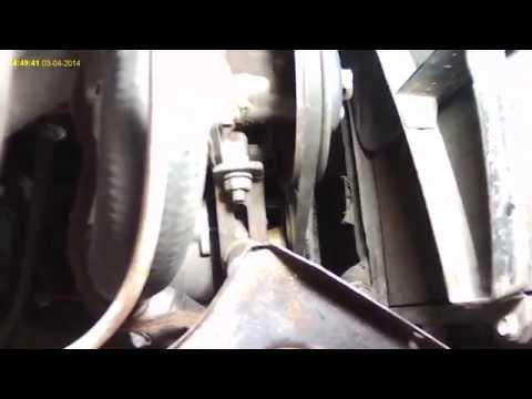 Натяжение ремня генератора на шевроле авео 2010г видео