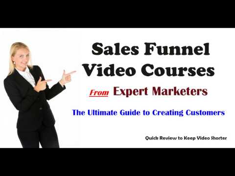 Give Sales Funnel Video Courses