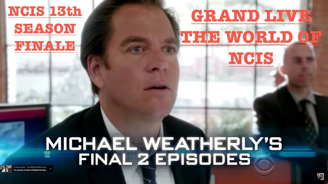 """Download NCIS SEASON 13 FINALE : MICHAEL WEATHERLY'S FAREWELL GRAND LIVE DE """"THE WORLD OF NCIS"""""""