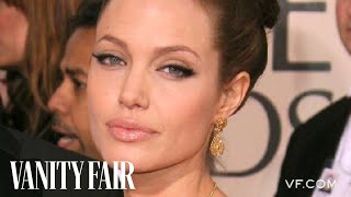 Angelina Jolie - The Secrets to Her Unique Fashion & Style on Vanity Fair Hollywood Style Star