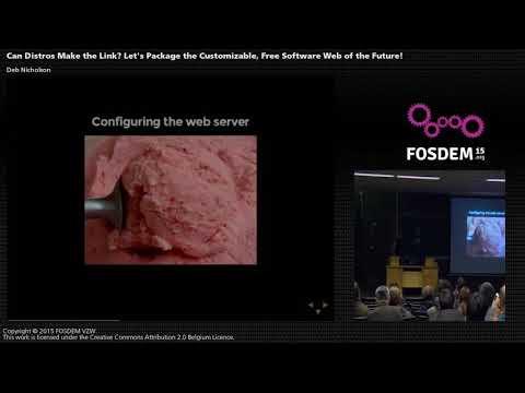 FOSDEM 2015 - Developer Room Distributions - Can Distros Make The Link.mp4