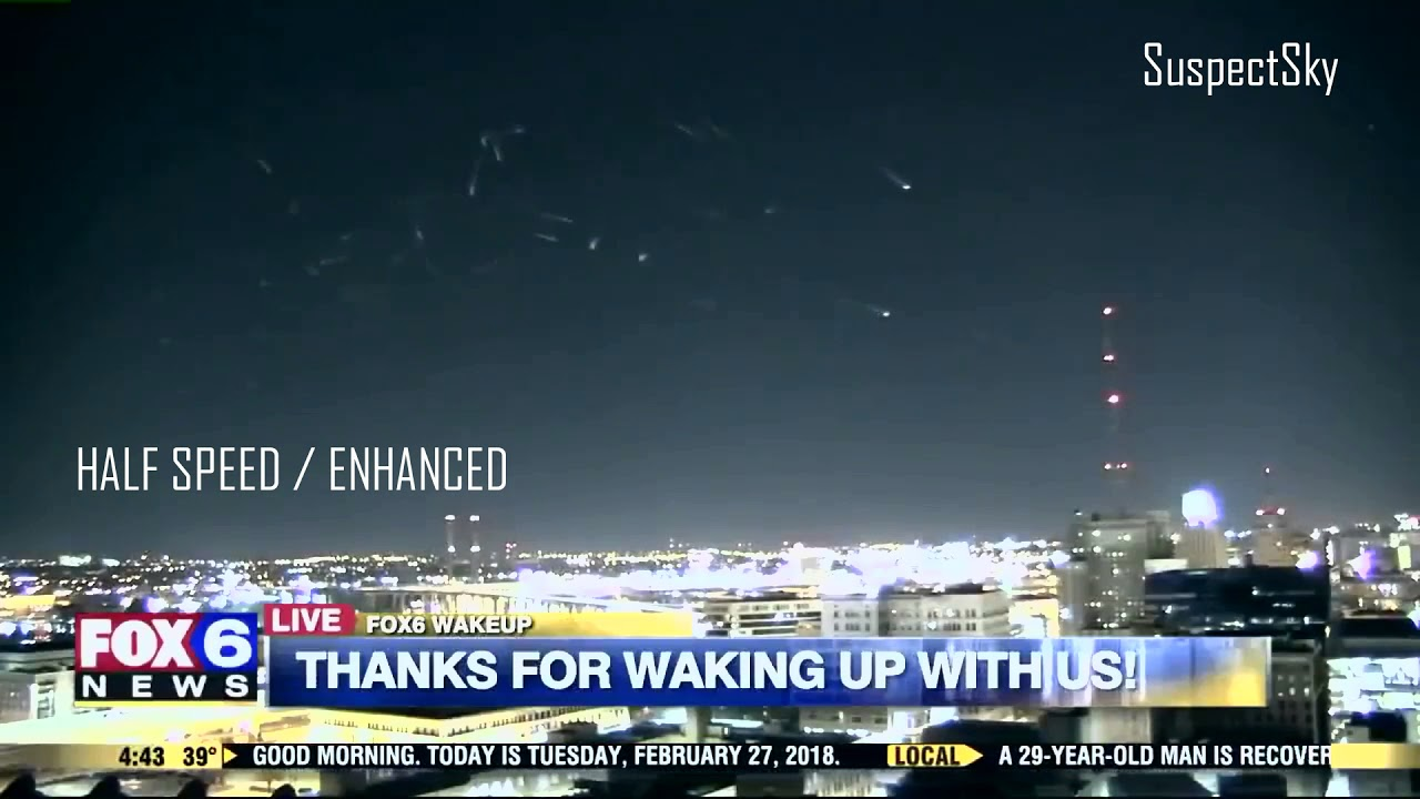 Cluster of UFOs Spotted on Live Fox News Broadcast – Exo News