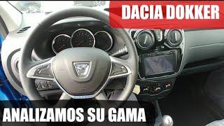 Gama DACIA DOKKER. Primeras impresiones. Test, review, prueba.