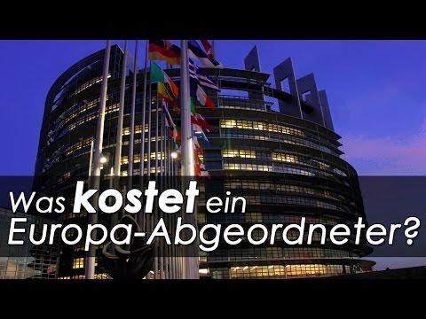 Was kostet ein EU-Abgeordneter?
