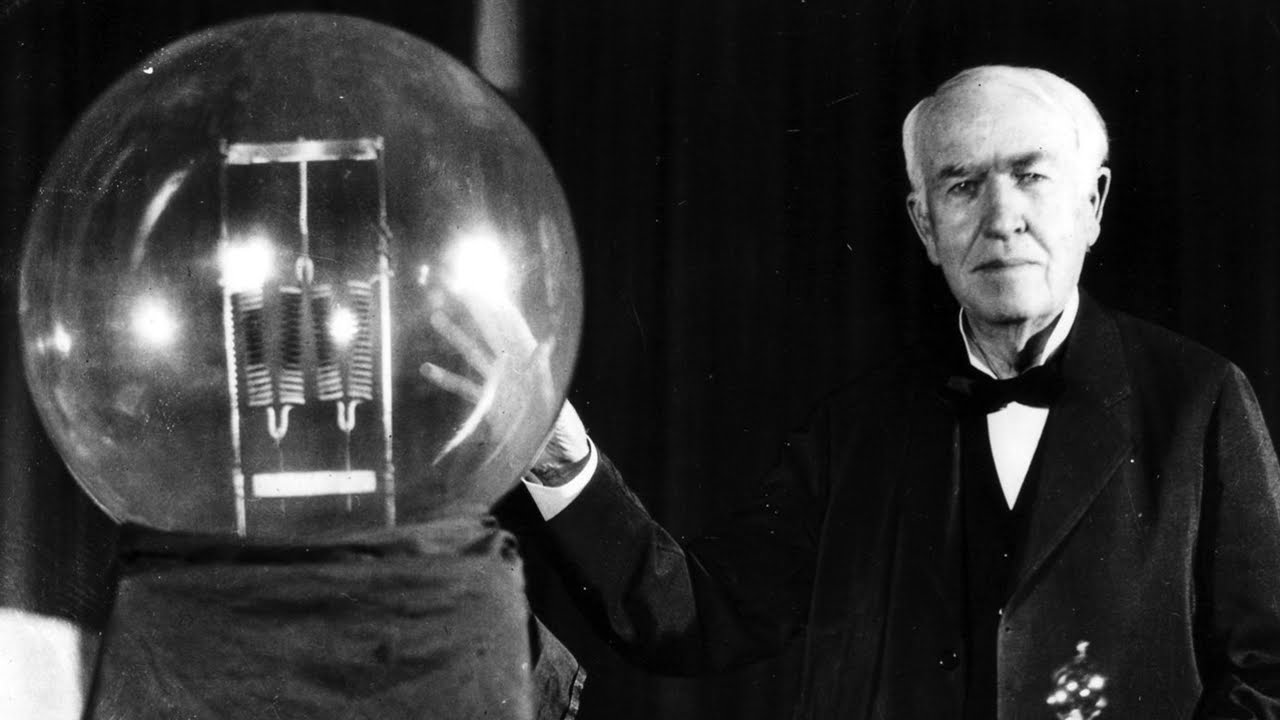 Thomas Edison - Greatest Inventors of All Time - YouTube
