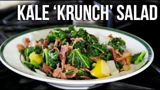 KALE KRUNCH BACON SAUTEED SALAD (HIGH PROTEIN-LOW CARB)