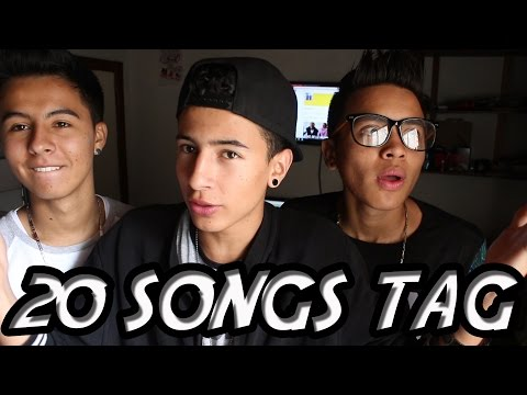 20 SONGS TAG | DANIEL MURCIA
