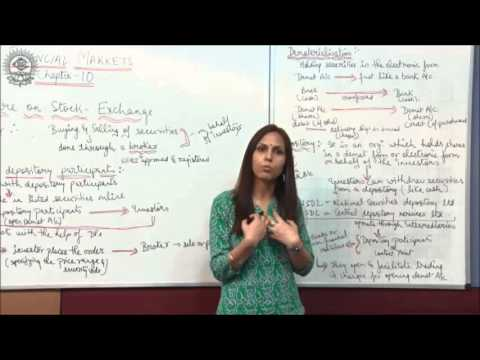 Trading procedure on stock exchange Class XII Bussiness Studies by Dr  Heena Rana