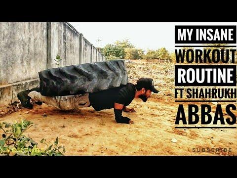 My Insane Workout Routine ft Shahrukh Abbas