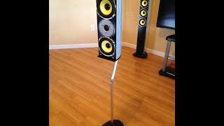 How To Make Surround Sound Speaker Stands