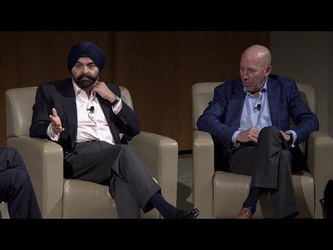 Mastercard CEO Ajay Banga  on leadership