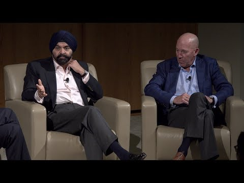 Mastercard CEO Ajay Banga  on leadership