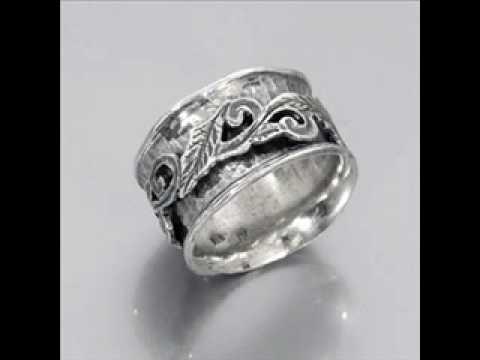 Sterling Silver Spin Spinner Spinning Handmade Rings Youtube