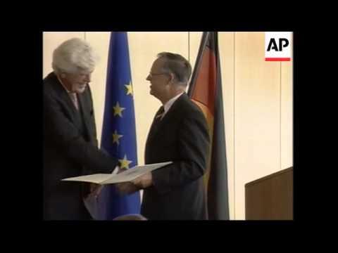 Head of ECB awarded Order of Merit