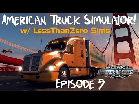 American Truck Simulator - Ep. 05:  Hello Nevada!!