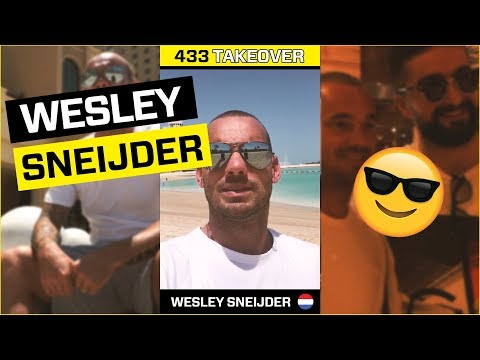 433 Takeover Sneijder: 433 and Wesley Sneijder's vSport Chain & Sport 8 become strategic partners