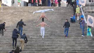 MOVING CAM - Attempt of the World Guinness Record by Giang Brothers