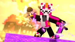 PLAYING WITH FORTNITE'S SUPER LEGENDARY SKIN IN MINECRAFT EGGWARS