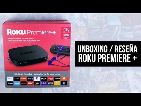Unboxing / Reseña: Roku Premiere + (4k streaming box)