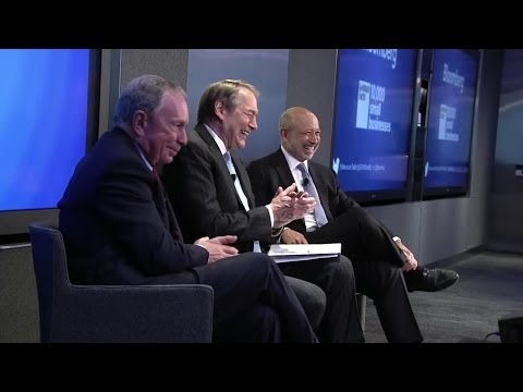 10,000 Small Businesses - New York Conference: Michael Bloomberg and Lloyd Blankfein
