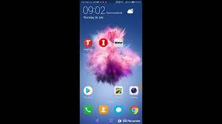 Huawei p smart, wie Sie Ordner erstellen auf dem Bildschirm