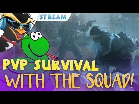 SURVIVAL WITH THE SQUAD! - The Division 1.5/Survival Livestream