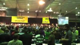 Repeat youtube video ANC Policy Conference 2012: Jacob Zuma singing