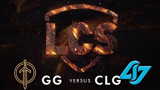 GG vs CLG | Week 8 | Summer Split 2020 | Golden Guardians vs. Counter Logic Gaming