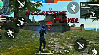 Aggressive player ⚡🎯 free fire highligts moto g6 plus