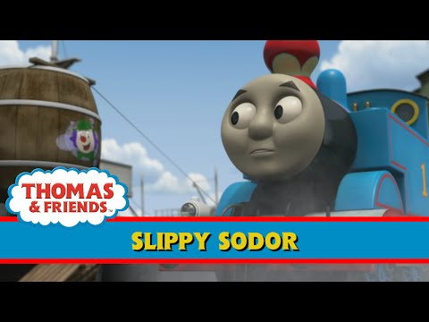 Puppy Dogs On A Train Engine Animated