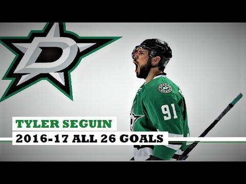 Tyler Seguin (#91) ● ALL 26 Goals 2016-17 Season (HD)