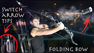 I Built Real Hawkeye Arrows, Bow, and Quiver! - Rocket Arrows, Grapple Arrows and More!!